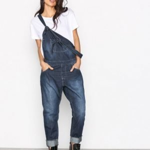 One Teaspoon Monroe Denim Overall Loose Fit Farkut Denim