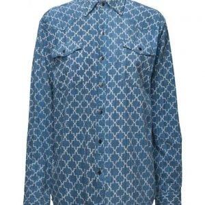 One Teaspoon Moroccan Zeppelin Shirt pitkähihainen paita