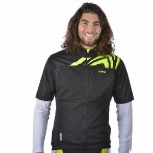 One Way Sprint Winner Jacket Treenitakki Musta / Keltainen