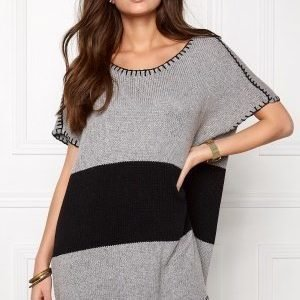 One teaspoon Moonstone knit dress Grey marle