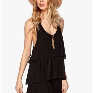 One teaspoon Plantation T-back Dress Black