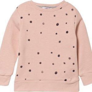 One we like Collegepusero Dots Vaaleanpunainen