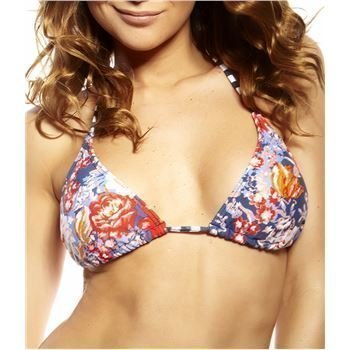 Oneill M and M Triangle Bra Blue