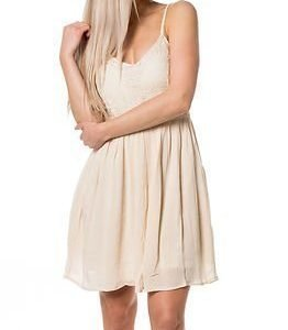 Only Add Heaven Strap Dress Whitecap Grey