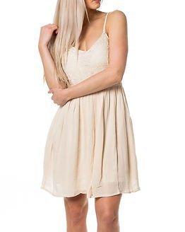 Only Add Heaven Strap Dress Whitecap Grey