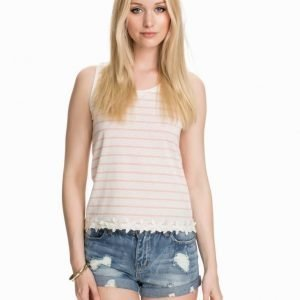 Only Aileen SL Tank Top Cloud Dancer