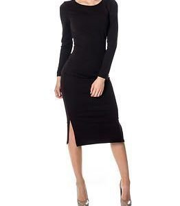 Only Allikat Calf Dress Black