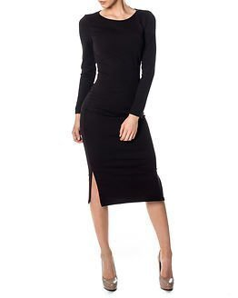 Only Allikat Calf Dress Black