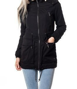 Only Anna Parka Jacket Black