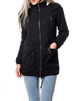 Only Anna Parka Jacket Black