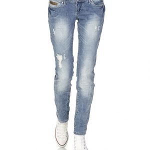 Only Coral Superlow Skinny Farkut