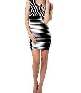 Only Daria SL Wrap Dress Black