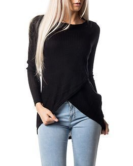 Only Dhaka Twist Pullover Black