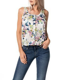 Only Elena Tank Top Yellow Flower