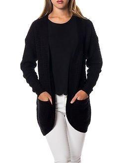 Only Emma XO Long Cardigan Knit Black