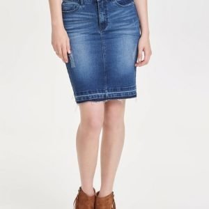 Only Jessica Pencil Denim Skirt Lyhyt Farkkuhame