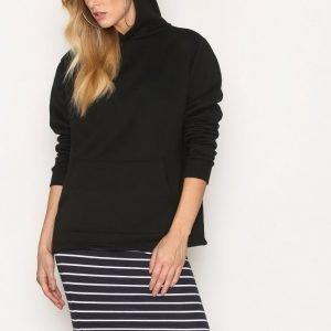 Only Onlabbie Stripe Calf Skirt Noos Midihame Tummansininen