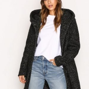 Only Onlindie Noma Wool Coat Cc Otw Pitkä Takki Musta