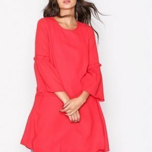 Only Onljoy 7 / 8 Flare Dress Wvn Loose Fit Mekko Punainen