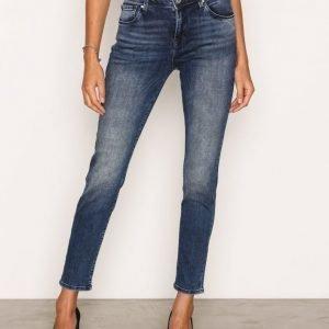 Only Onlrelax Dnm Jeans Rim13350 Straight Farkut Sininen