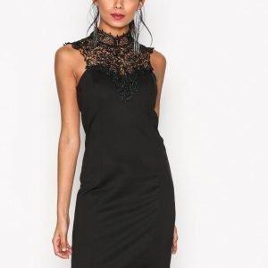 Only Onlsandy S / L Short Dress Jrs Kotelomekko Musta