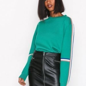 Only Onltracey Faux Leather Skirt Otw Minihame Musta