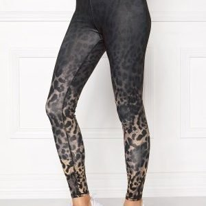 Only Play Animal Training Tights Black/Animal