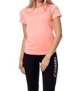 Only Play Anissa Seamless Training Tee Bright Orange