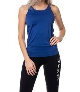 Only Play Anissa Seamless Training Top Electric Blue