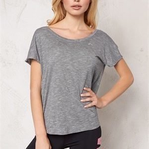 Only Play Ann SS Training Tee Light Grey Melange