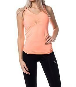 Only Play Aubree Femi Tank Top Bright Orange