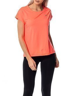 Only Play Aubree Loose Training Tee Bright Coral