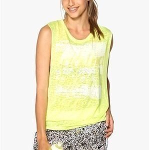 Only Play Cage Training Top Neon Yellow