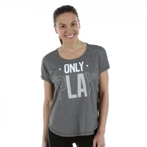 Only Play Celia Loose Ss Training Tee Treenipaita Musta