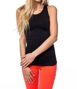 Only Play Christine Seamless Top Black