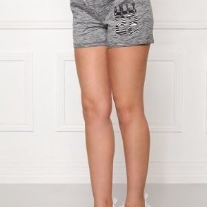 Only Play Cristal Sweat Shorts Medium Grey Melange