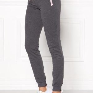 Only Play Ellen Slim Sweat Pants Dark Grey Melange