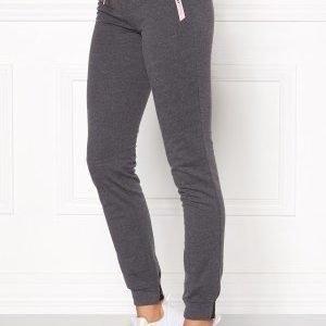 Only Play Ellen Slim Sweat Pants Dark Grey Melange