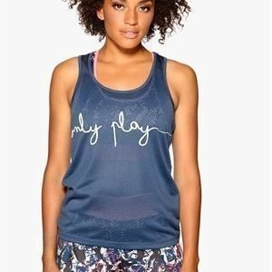 Only Play Giselle Mesh Tank Ensign Blue