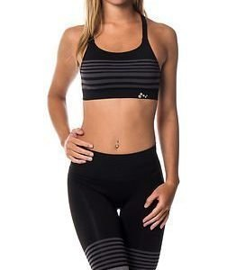 Only Play Ida Seamless Sports Bra Black/Grey