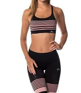 Only Play Ida Seamless Sports Bra Black/Zephyr