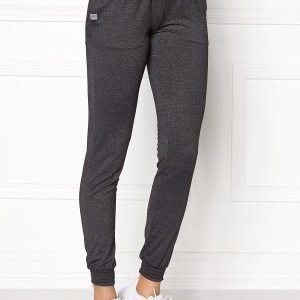 Only Play Ida Slim Sweat Pants Dark Grey Melange