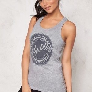 Only Play Jessie Tank Top Light Grey Melange