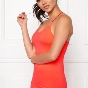 Only Play Jewel Seamless Top Bright Coral