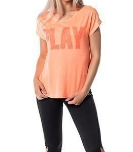 Only Play Jina Loose Tee Bright Orange