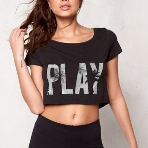 Only Play Joyelle Regular Crop Tee Moonless night