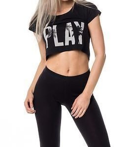Only Play Joyelle Regular Cropped Tee Moonless Night