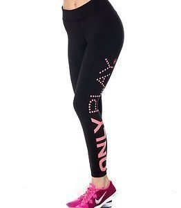 Only Play Louisa Brushed Training Tights Black/Hot Pink