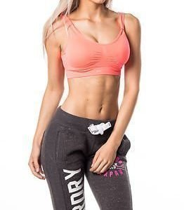 Only Play Mira Seamless Sports Bra Bright Coral