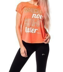 Only Play Moreen Loose Tee Bright Coral